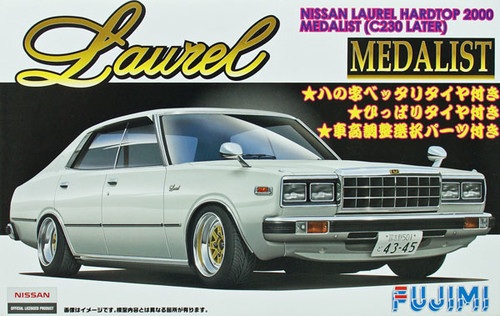 Fujimi ID-169 Nissan Laurel Hardtop 2000 Medalist (C230 Later) 1/24 Scale Kit
