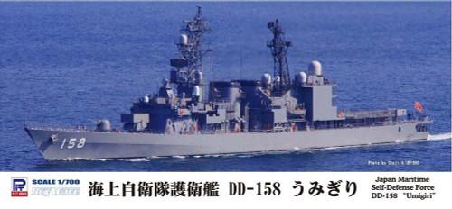 "Pit-Road Skywave J-76 Japan Maritime Self-Defense Forse DD-158 ""UMIGIRI"" 1/700 scale kit"