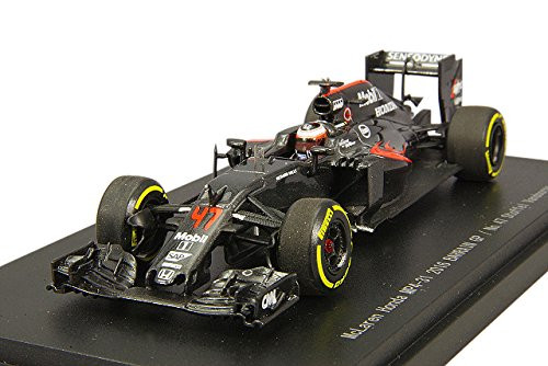 Ebbro 45490 McLaren Honda MP4-31 2016 BAHRAIN GP No.47 Stoffel Vandoorne 1/43 scale