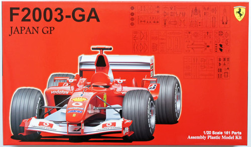 Fujimi GP28 090801 F1 Ferrari F2003-GA Japan GP 1/20 Scale Kit