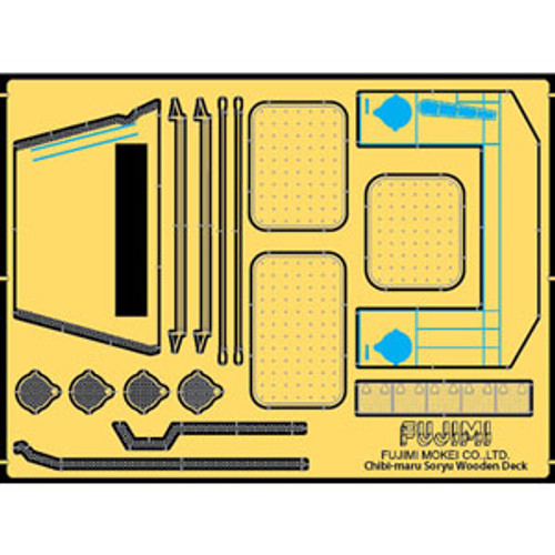 Fujimi TK 115283 Photo Etched Parts for Chibi-maru IJN Aircraft Carrier Soryu
