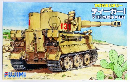 Fujimi TM8 Chibi-maru Military Tiger I (African Version #131) Non-scale kit
