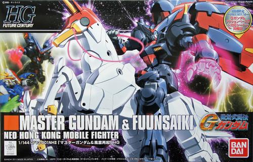 Bandai HGUC 128 MASTER Gundam & FUUNSAIKI 1/144 Scale Kit