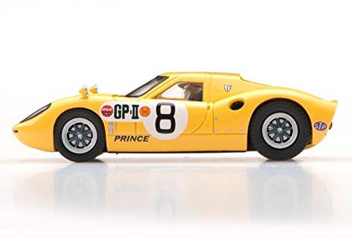 Ebbro 45345 Prince R380 1966 Japan GP IKUZAWA No.8 Yellow 1/43 scale