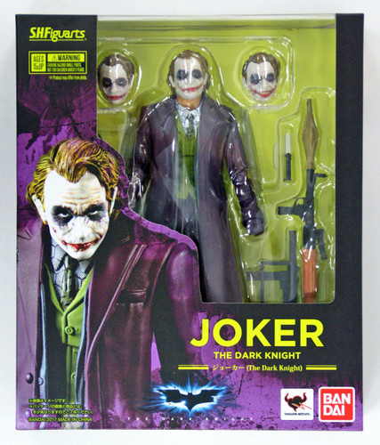 Bandai 149507 S.H. Figuarts The Dark Knight Joker Action Figure
