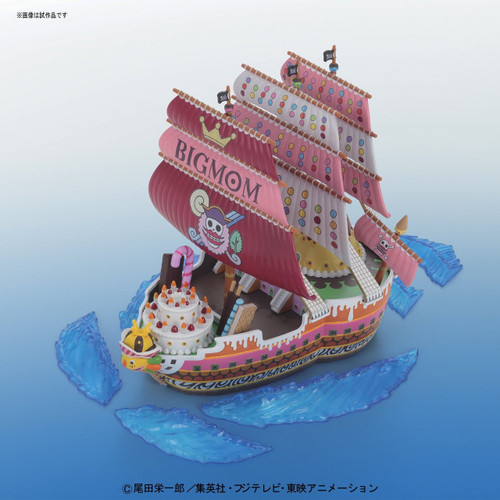 Bandai ONE PIECE GRAND SHIP COLLECTION 163879 Queen Mama Chanter Non-scale Plastic Model Kit