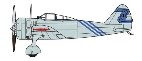 "Hasegawa 07451 Nakajima Ki27 Type 97 Fighter (Nate) ""4th Flight Regiment"" 1/48"