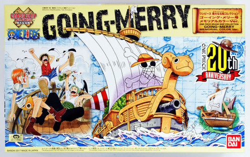Bandai ONE PIECE GRAND SHIP COLLECTION 178477  Going Merry Memorial Color Ver. Non-scale Plastic Model Kit