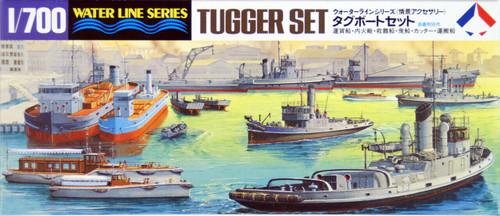 Tamiya 31509 Japanese Military Tugger Set (Scenery Accessory) 1/700 scale kit