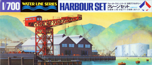 Tamiya 31510 IJN Japanese Military Harbour set 1/700 scale kit