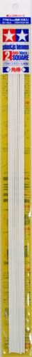 Tamiya 70129 Plastic Beams 2 mm Square 10 pcs.
