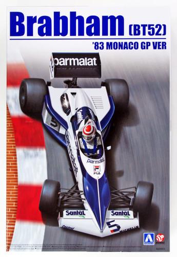 Aoshima 98233 Brabham BT52 1983 Monaco GP Version 1/20 Scale Kit