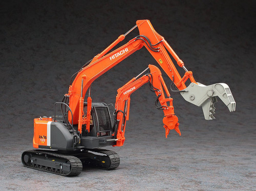 Hasegawa SP361 Double Arm Working Machine Astaco NEO Crusher / Steel Cutter 1/35 scale kit