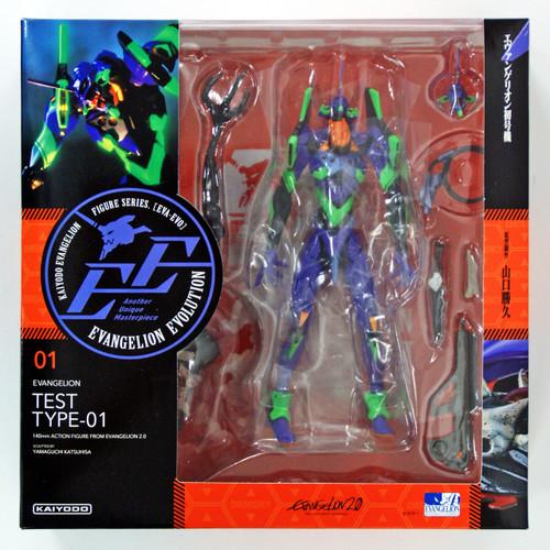 Kaiyodo (Union Creative) Evangelion Evolution EV-001 EVA Unit 01 Revoltech Figure