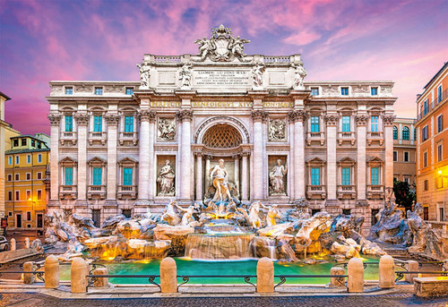 Beverly Jigsaw Puzzle 31-478 Trevi Fountain Rome Italy (1000 Pieces)