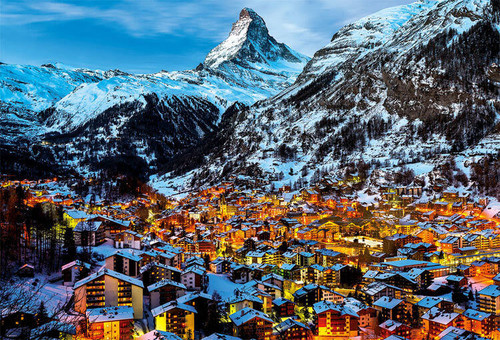 Beverly Jigsaw Puzzle 31-477 Matterhorn Zermatt Switzerland (1000 Pieces)