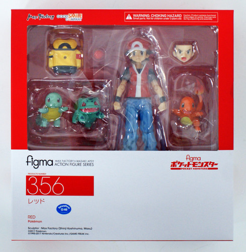 Good Smile Figma 356 Legendary Trainer Red Figure (Pokémon)
