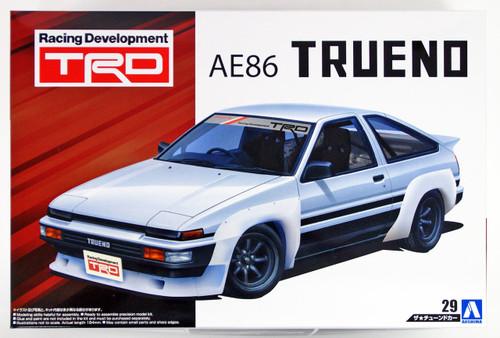 Aoshima 53607 TRD AE86 TRUENO N2 '85 (TOYOTA) 1/24 scale kit