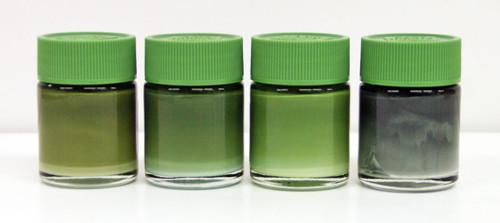 GSI Creos Mr.Hobby CS584 Mr. Color Modulation Set Russian Green Version