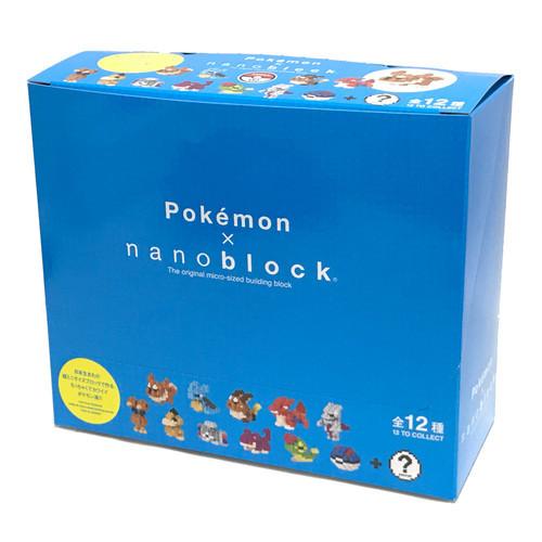 Kawada Pokemon x nanoblock mini Pocket Monster Series 02 Complete Set