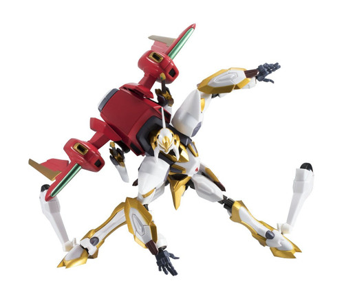 Bandai 165750 Robot Tamashii Code Geass Lancelot Air Cavalry Figure