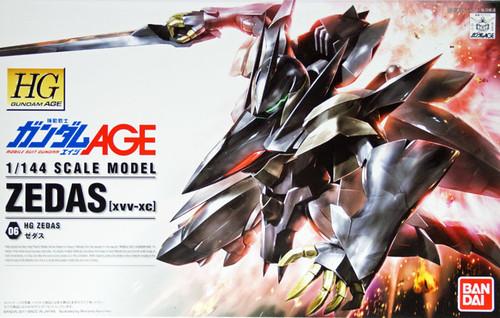 Bandai Gundam HG AGE-06 ZEDAS (XVV-XC) 1/144 Scale Kit