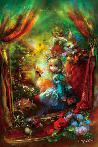 APPLEONE Jigsaw Puzzle 300-330 SHU Alice Locomotion (300 Pieces)