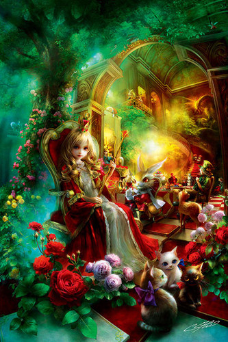 APPLEONE Jigsaw Puzzle 1000-811 SHU Queen Alice (1000 Pieces)