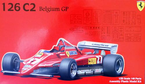 Fujimi GP31 090856 F1 Ferrari 126C2 Belgium GP 1/20 Scale Kit