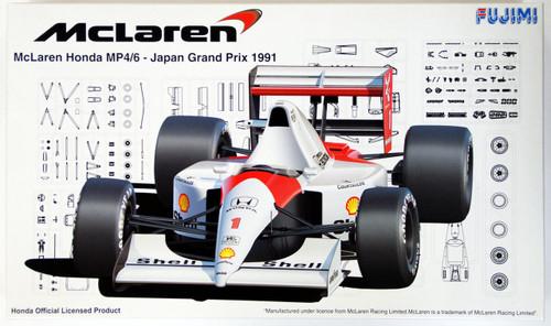 Fujimi GP SP7 090511 F1 McLaren MP4/6 1991 Japan GP 1/20 Scale Kit
