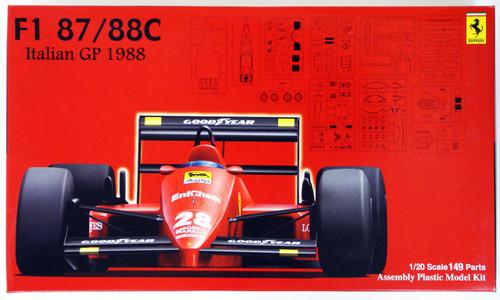 Fujimi GP SP9 090559 F1 Ferrari 87/88C 1988 Italian 1/20 Scale Kit