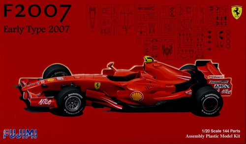 Fujimi GP SP12 090689 F1 Ferrari F2007 Early Type 1/20 Scale Kit