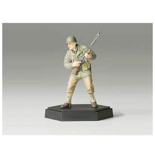 Tamiya 26010 Figure Collection U.S. Army Assault Infantry Machine Gunner Completed 1/35 Scale