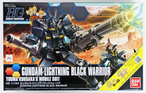 Bandai HG Build Fighters 061 GUNDAM LIGHTNING BLACK WARRIOR 1/144 scale kit