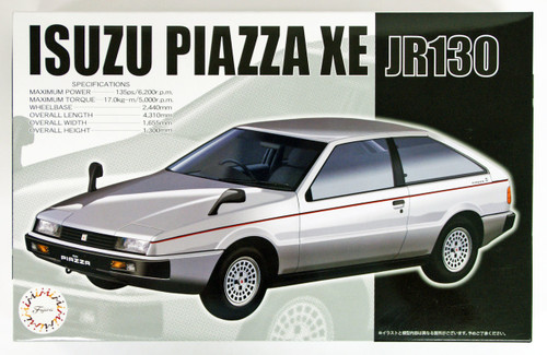 Fujimi ID-256 Isuzu Piazza XE (JR130) 1/24 Scale Kit