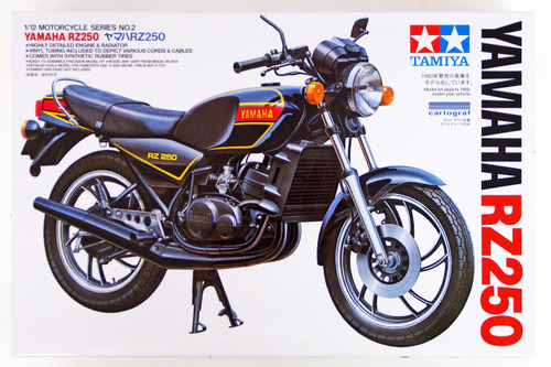 Tamiya 14002 Yamaha RZ250 1/12 scale kit