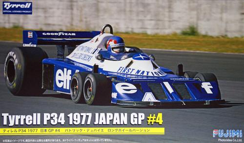 Fujimi GP35 090924 F1 Tyrrell P34 1977 Japan GP #4 Long Wheel Version 1/20 Scale Kit