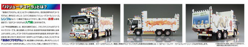Aoshima 52921 Koshu Kaido Musen Rengo (Large Dump) 1/32 Scale Kit