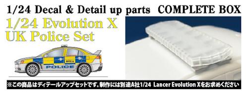 Studio27 ST27-CP24017 Evolution X UK Police Set for Aoshima 1/24