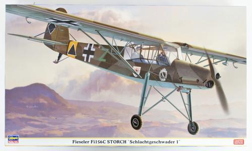 """Hasegawa 08250 Fieseler Fil56C Storch """"Schlachtgeschwader 1"""" 1/32 scale kit"""