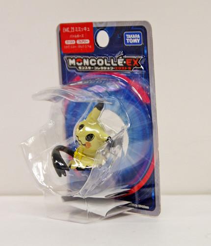 Takara Tomy Pokemon Moncolle Monster Collection EX EMC_29 Mimikyu Battle Pose
