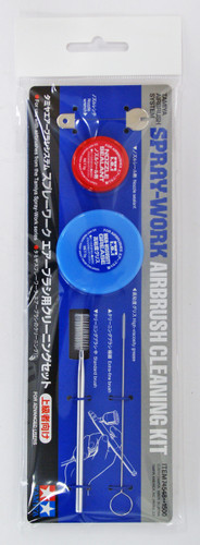 Tamiya 74548 Airbrush Cleaning Kit Tamiya Spray-Work Series