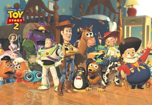 Tenyo Japan Jigsaw Puzzle D-108-863 Disney Toy Story (108 Pieces)
