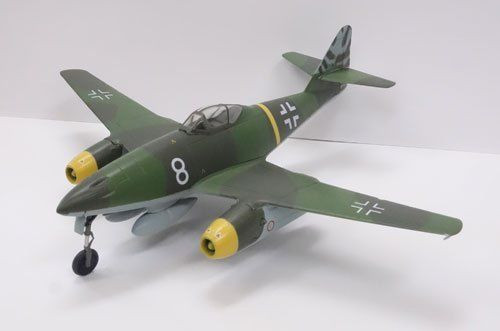 Doyusha 500996 Zero Fighter Type 52 No.12 Messerschmitt Me262A-1a 1/72 Scale Model