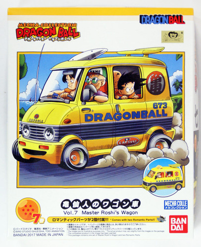 Bandai 176244 Dragon Ball Master Roshi's Wagon non Scale Kit  (Mecha Collection Dragon Ball No.07)