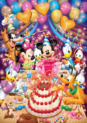 Tenyo Japan Jigsaw Puzzle D-108-961 Disney Mickey Mouse (108 Pieces)