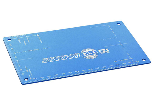 Tamiya 95108 Mini 4WD HG Aluminum Setting Board 35th Anniversary Japan Cup