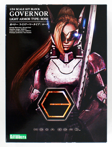 Kotobukiya HG013 Hexa Gear Governor Light Armor Type : Rose 1/24 Scale Kit