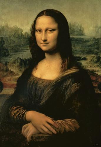 Beverly Jigsaw Puzzle 51-232 Leonardo da Vinci Mona Lisa Full Size (1000 Pieces)