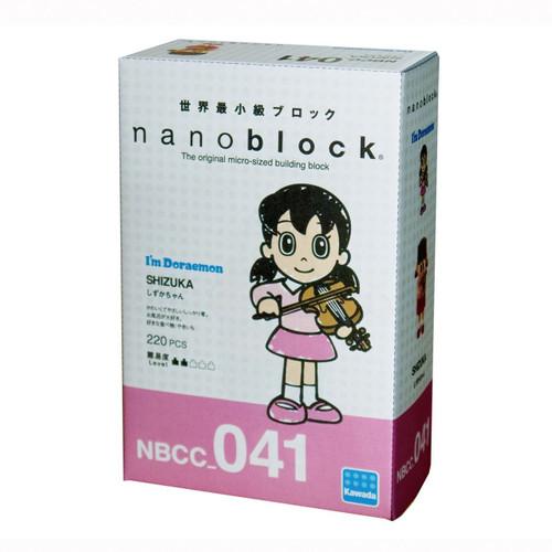 Kawada NBCC-041 I'm Doraemon nanoblock Sue (Shizuka)